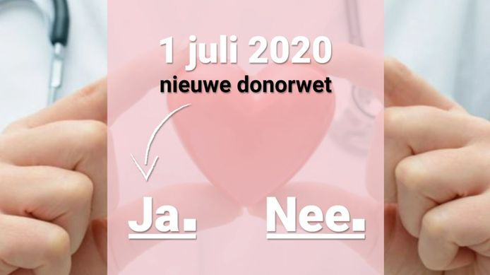 Het nieuwe donorregister vanaf 1 juli