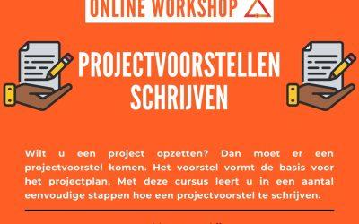 Online Cursus Projectenvoorstellen en fondsen werven 28/09/2021