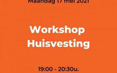 Workshop Huisvesting 17/05/2021