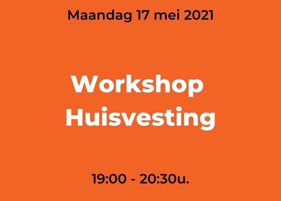Online Workshop Huisvesting 26/10/2021