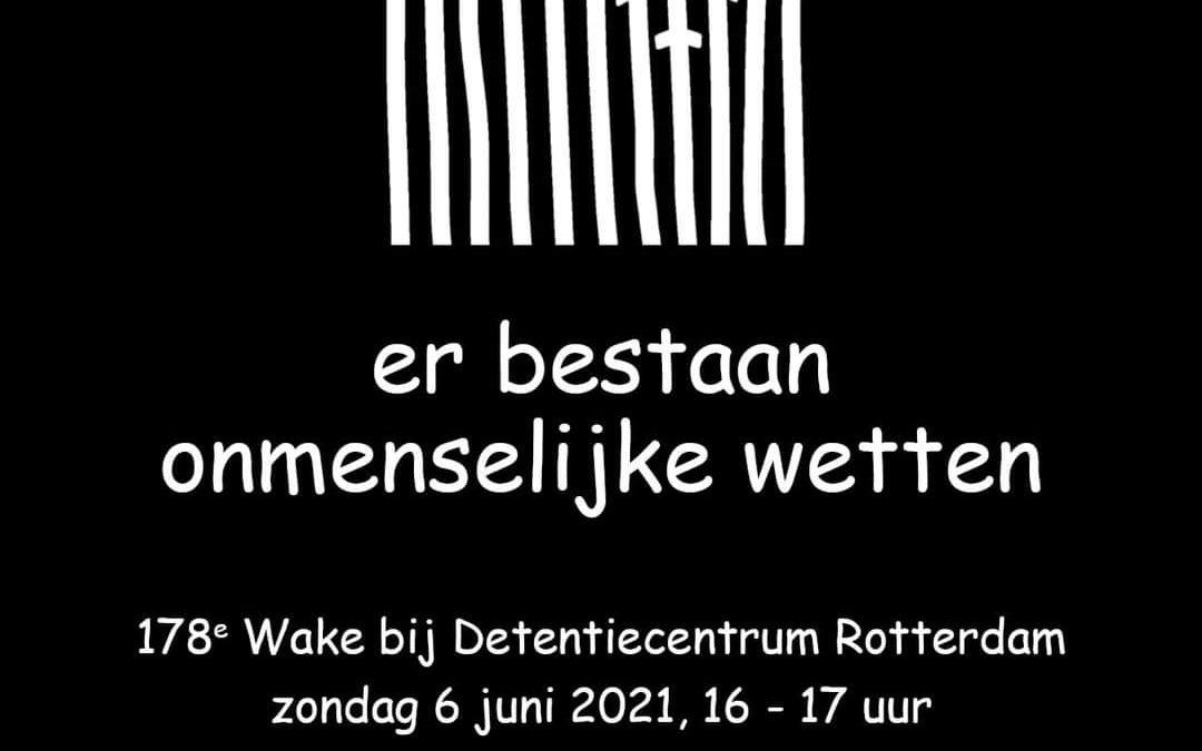 Wake Detentiecentrum Zestienhoven 06/06/2021